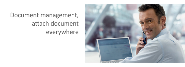 Document Management, Attach document everywhere