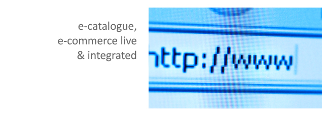E-commerce, Live & integrated