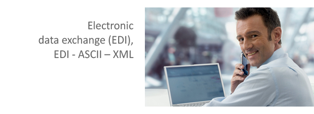 Electronic Data Exchange (EDI), EDI - ASCII – XML